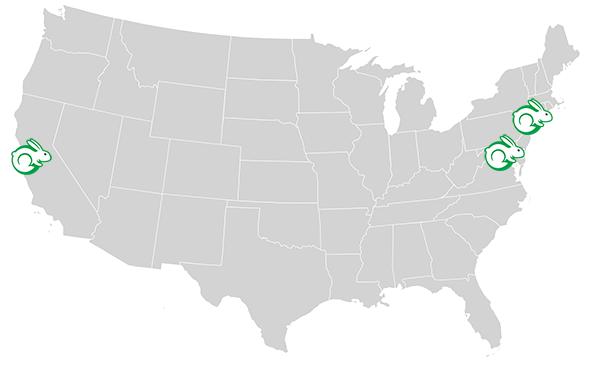 Ambasador map
